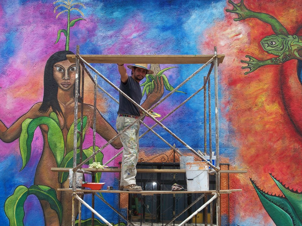 La pintura al fresco: una técnica colorida, ecológica y de